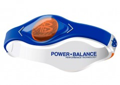 PULSEIRA POWER BALANCE GAME DAY SERIES AZUL COM LARANJA